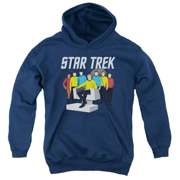 Star Trek Vector Crew Youth Pull Over Hoodie