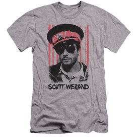 Scott Weiland Black Hat Premuim Canvas Adult Slim Fit Athletic