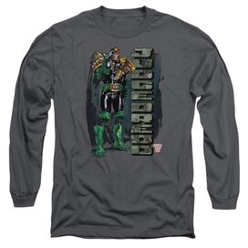 Judge Dredd Blam Long Sleeve Adult T-Shirt
