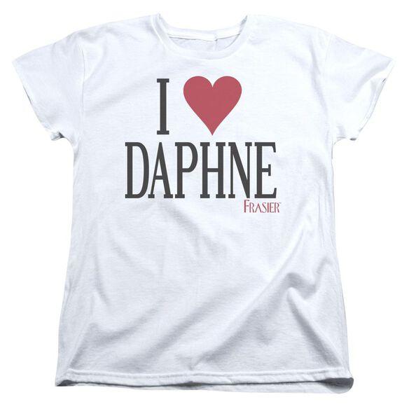 Frasier I Heart Daphne Short Sleeve Womens Tee T-Shirt
