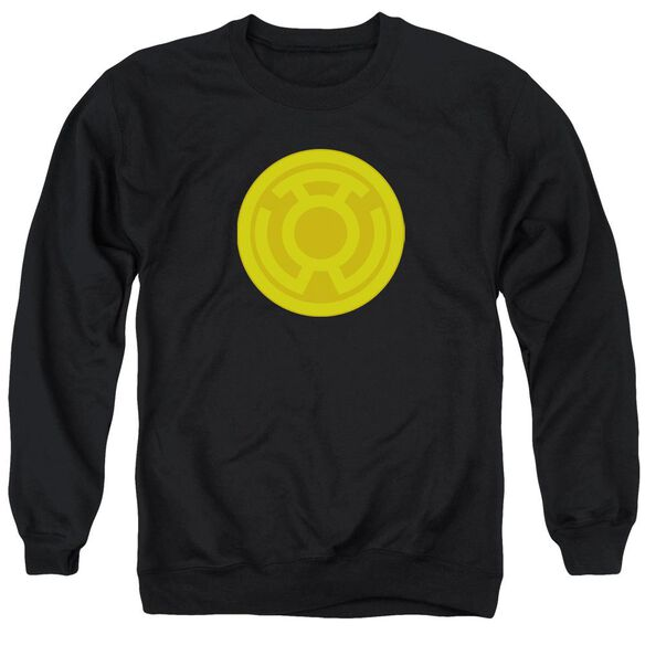 Green Lantern Yellow Symbol Adult Crewneck Sweatshirt