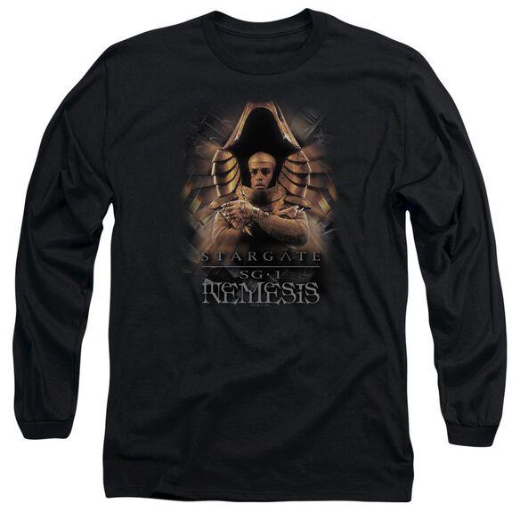 Sg1 Nemesis Long Sleeve Adult T-Shirt