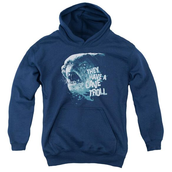 Lor Cave Troll Youth Pull Over Hoodie