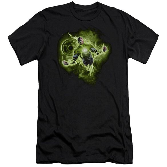 Green Lantern Lantern Nebula Short Sleeve Adult T-Shirt