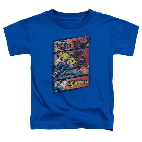 SUPERMAN SUPERMAN VS ZOD-S/S TODDLER T-Shirt