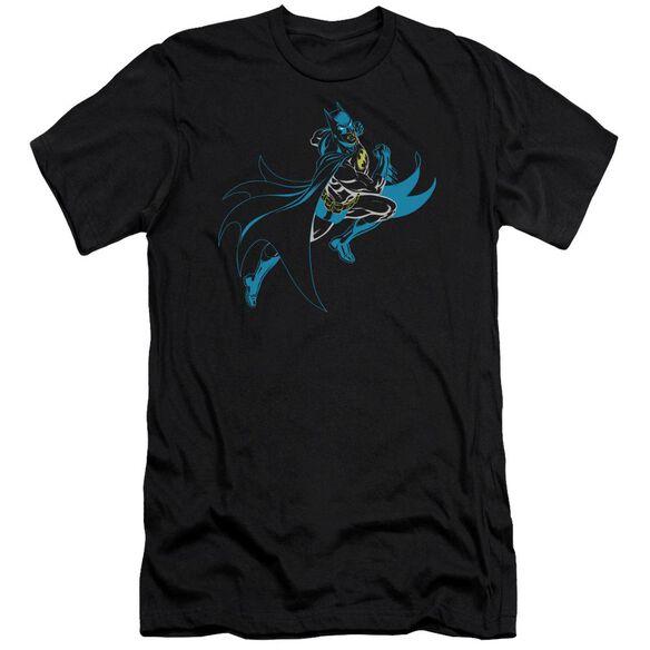 Batman Neon Batman Short Sleeve Adult T-Shirt