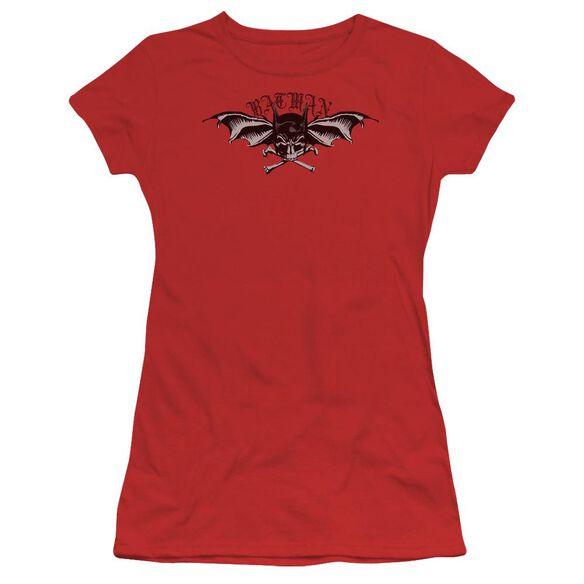 Batman Wings Of Wrath Short Sleeve Junior Sheer T-Shirt