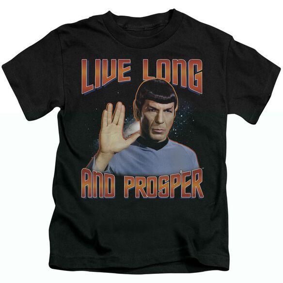 ST ORIGINAL LIVE LONG AND PROSPER - S/S JUVENILE 18/1 - BLACK - T-Shirt