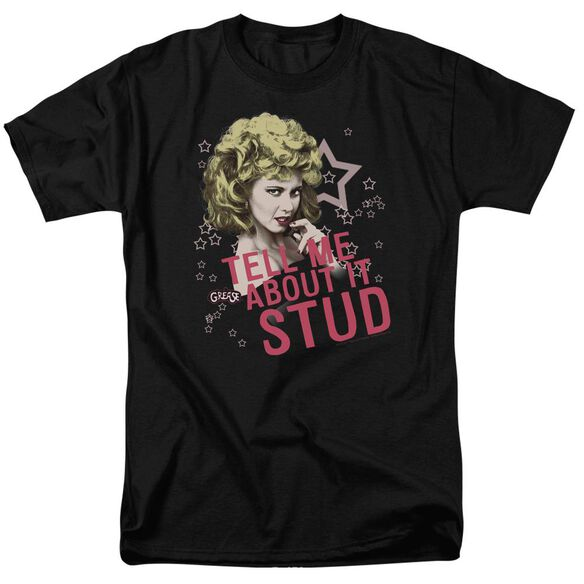 Grease Tell Me About It Stud Short Sleeve Adult T-Shirt