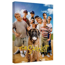 Sandlot Poster Canvas Wall Art With Back Board