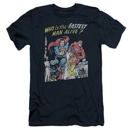 Jla Fastest Man Short Sleeve Adult T-Shirt