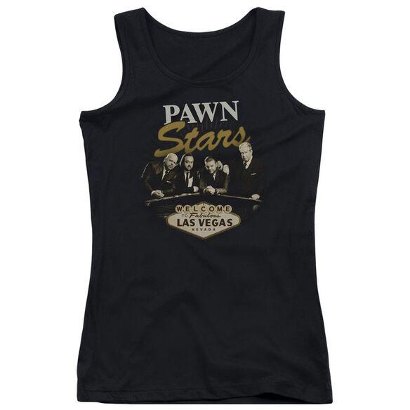 Pawn Stars Let It Roll Juniors Tank Top