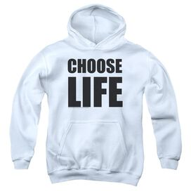 Wham Choose Life Youth Pull Over Hoodie