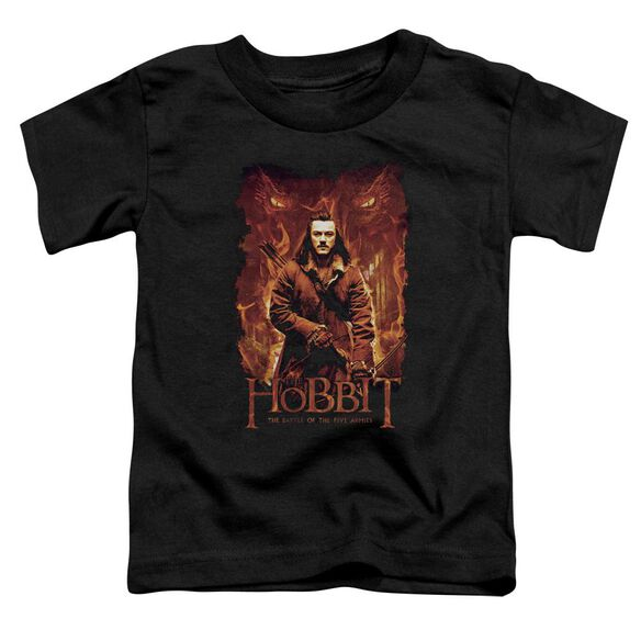 Hobbit Fates Short Sleeve Toddler Tee Black T-Shirt