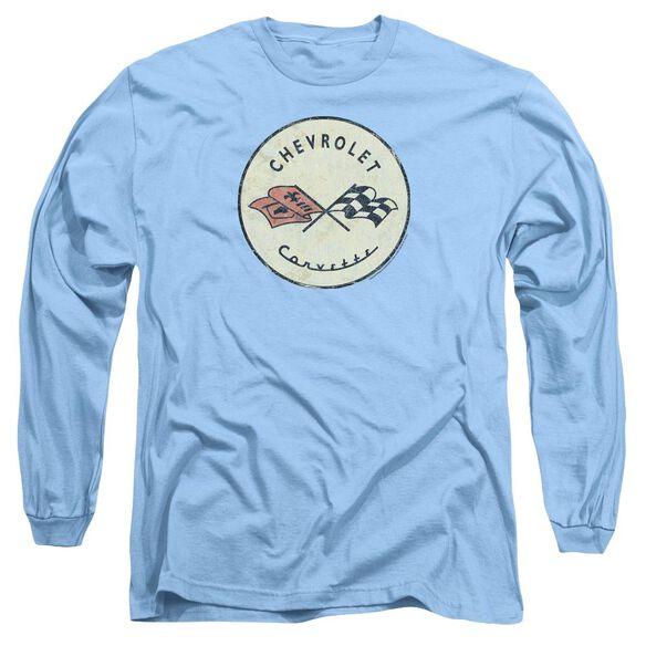 Chevrolet Old Vette Long Sleeve Adult Carolina T-Shirt