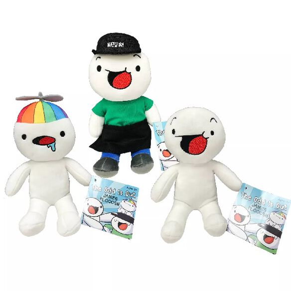 """The Odd 1s Out 10"""" James Plooosh Plush"""