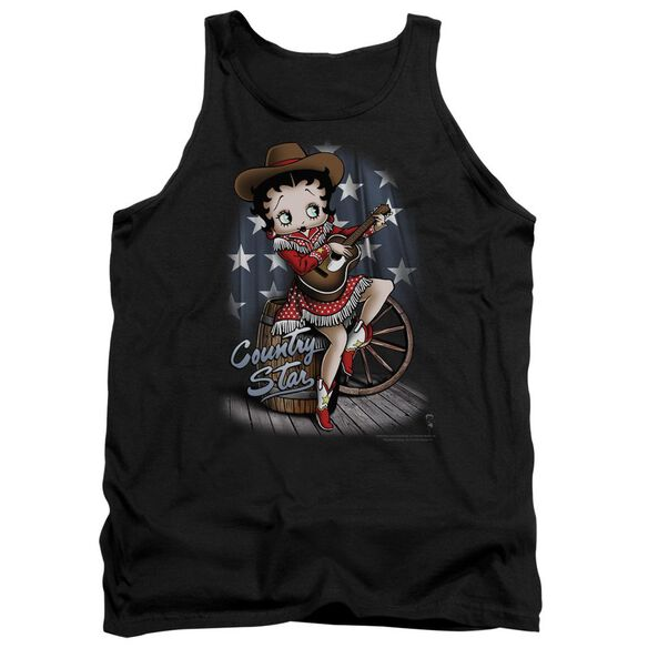 Betty Boop Country Star Adult Tank