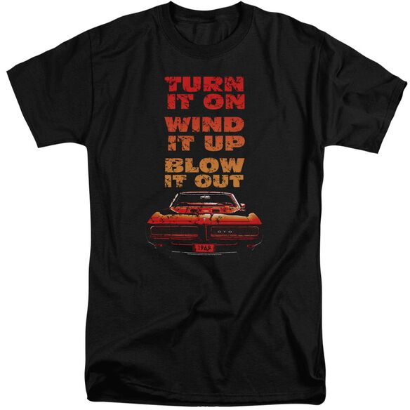 Pontiac Blow It Out Gto Short Sleeve Adult Tall T-Shirt