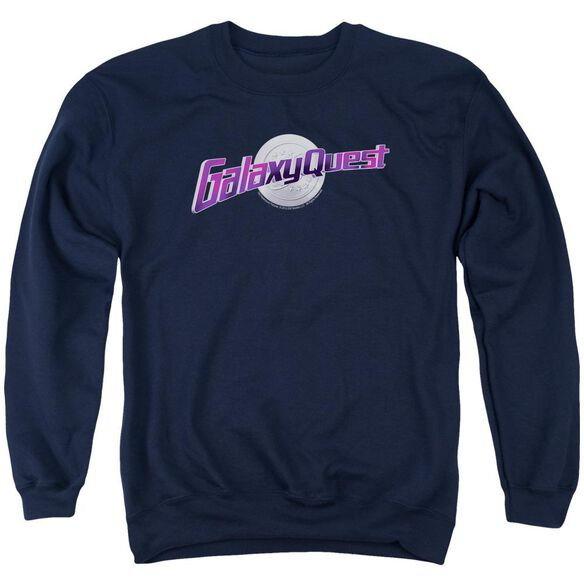 Galaxy Quest Logo Adult Crewneck Sweatshirt