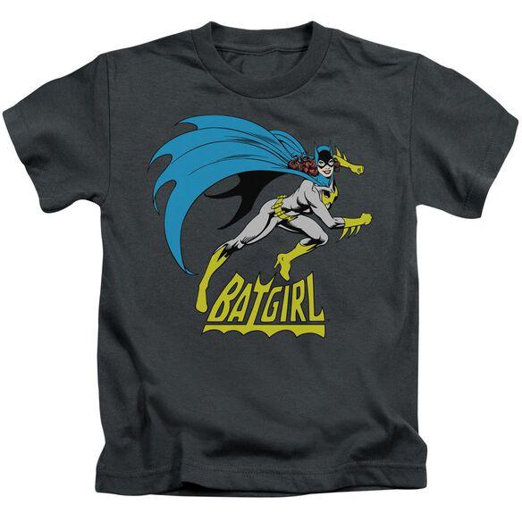 Dc Batgirl Is Hot Short Sleeve Juvenile Charcoal T-Shirt