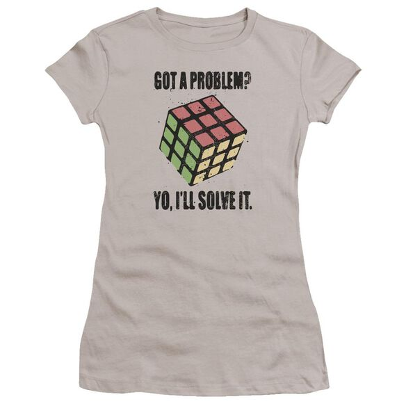 Rubik's Cube Problem Solver Premium Bella Junior Sheer Jersey