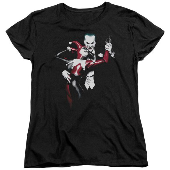 Batman Harley And Joker Short Sleeve Womens Tee T-Shirt