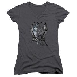 Corpse Bride Runaway Groom Junior V Neck T-Shirt