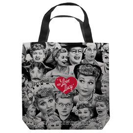 I Love Lucy Faces Tote