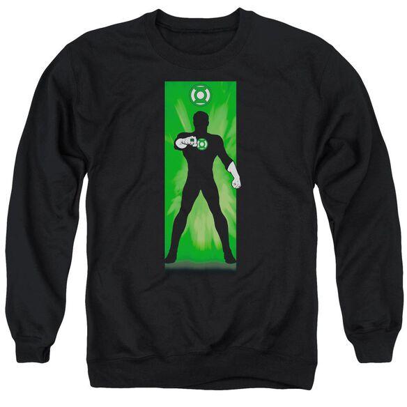 Dc Green Lantern Block Adult Crewneck Sweatshirt