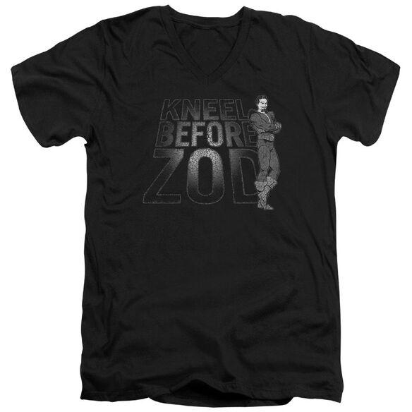 Dc Kneel Zod Short Sleeve Adult V Neck T-Shirt