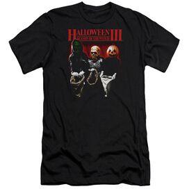 HALLOWEEN III TRICK OR TREAT - S/S ADULT 30/1 - BLACK T-Shirt
