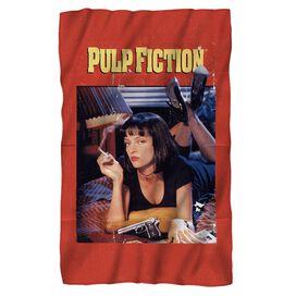 Pulp Fiction Pf Poster Fleece Blanket