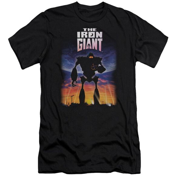 Iron Giant Poster Premuim Canvas Adult Slim Fit