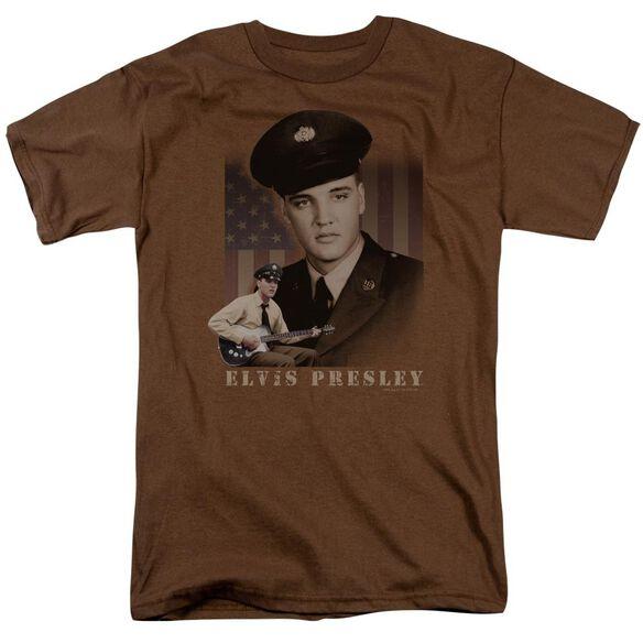 Elvis Presley Gi Elvis Short Sleeve Adult T-Shirt