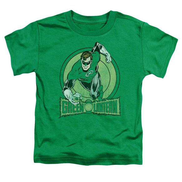 Dc Green Lantern Short Sleeve Toddler Tee Kelly Green Md T-Shirt