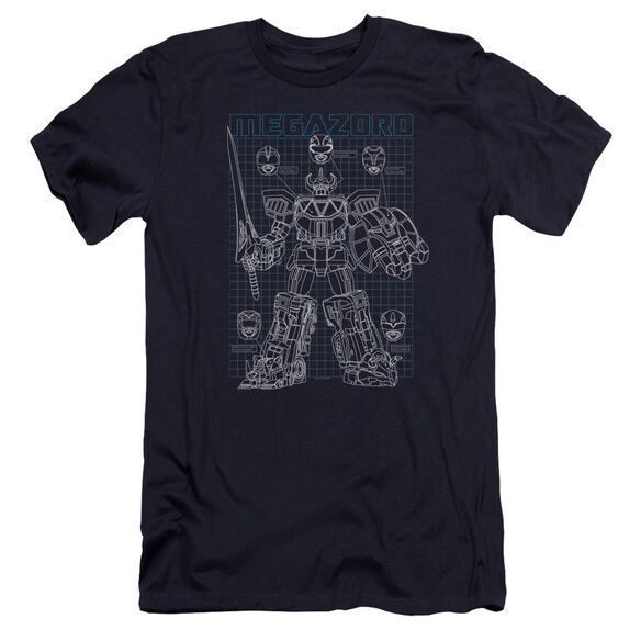 Power Rangers Mega Plans Hbo Short Sleeve Adult T-Shirt