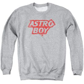 Astro Boy Logo Adult Crewneck Sweatshirt Athletic
