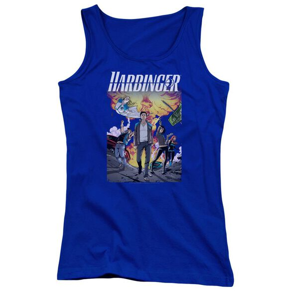 Harbinger Foot Forward Juniors Tank Top Royal