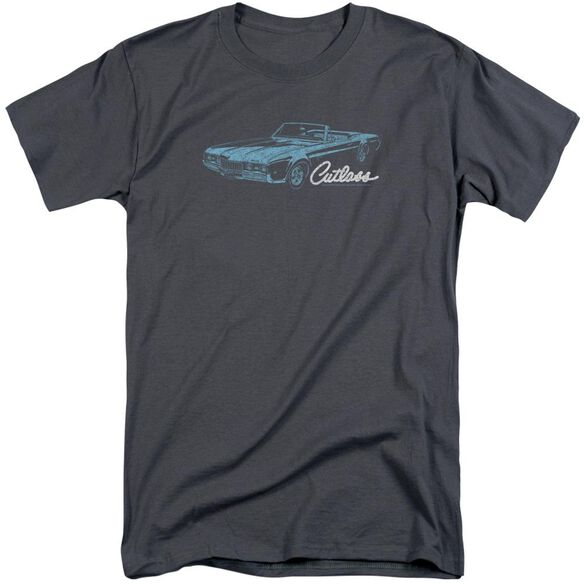 Oldsmobile 68 Cutlass Short Sleeve Adult Tall T-Shirt
