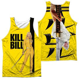 Kill Bill Poster (Front Back Print) Adult Poly Tank Top