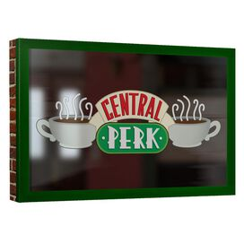 Friends Central Perk Window Canvas Wall Art With Back Board