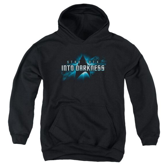Star Trek Into Darkness Logo Youth Pull Over Hoodie