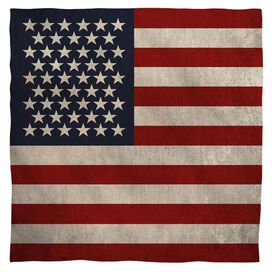 Old American Flag Bandana
