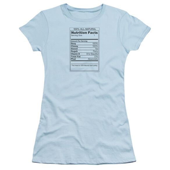 100% ALL NATURAL- JUNIOR T-Shirt