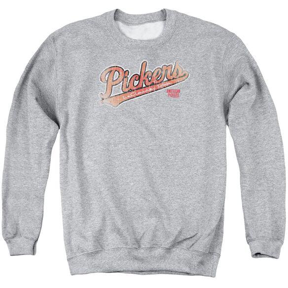 American Pickers Distressed Pickers Adult Crewneck Sweatshirt Athletic
