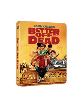 Better Off Dead [Exclusive Blu-ray Steelbook]