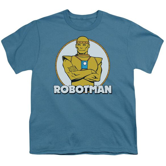 Dc Robotman Short Sleeve Youth T-Shirt
