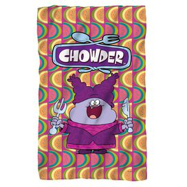 Chowder Hungry Fleece Blanket