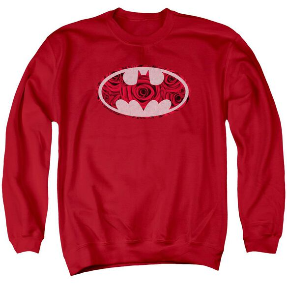 Batman Rosey Signal Adult Crewneck Sweatshirt