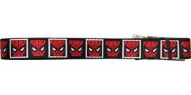 Spiderman Mask Squares Mesh Belt